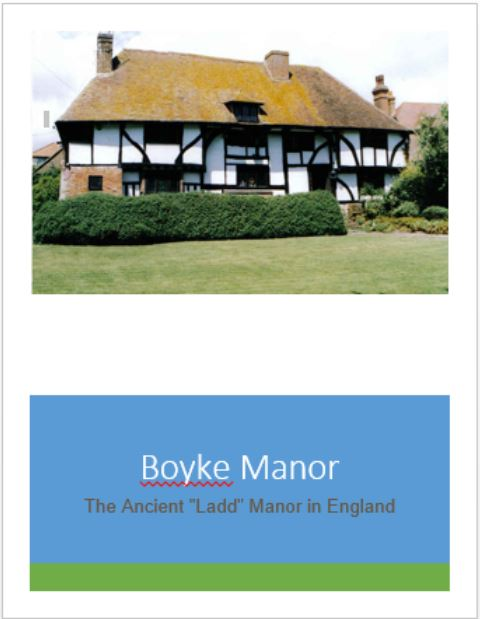 Boyke Manor Cover